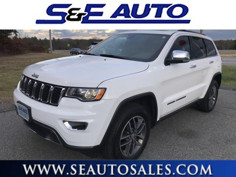 Used 2018 Jeep Grand Cherokee Limited for sale $29,998 at S & E Auto Sales in Walpole MA