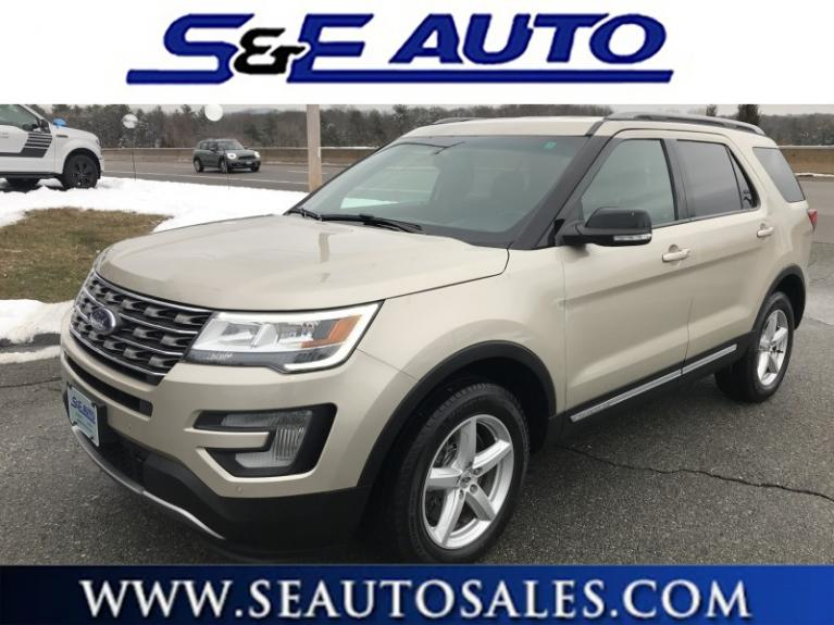 Used 2017 Ford Explorer XLT for sale $26,998 at S & E Auto Sales in Walpole MA