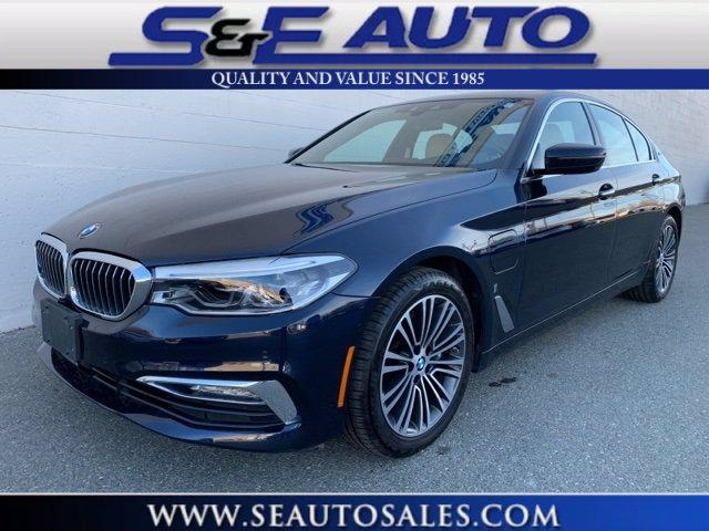 Used 2018 BMW 5 Series 530e xDrive iPerformance for sale $34,998 at S & E Auto Sales in Walpole MA