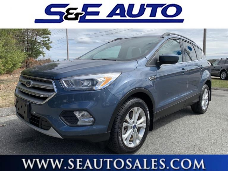Used 2018 Ford Escape SEL for sale $21,900 at S & E Auto Sales in Walpole MA