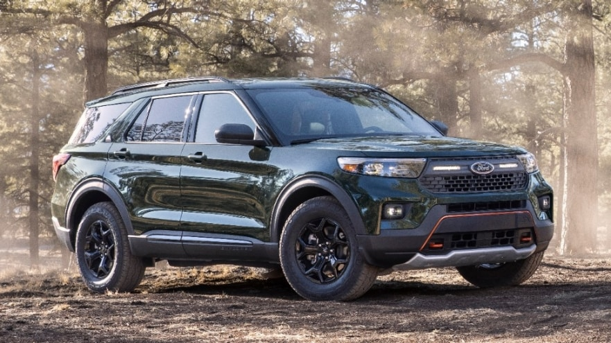 Ford Grows Rugged SUV Lineup with New Ford Explorer Timberline – Most Off-Road-Capable Explorer Ever