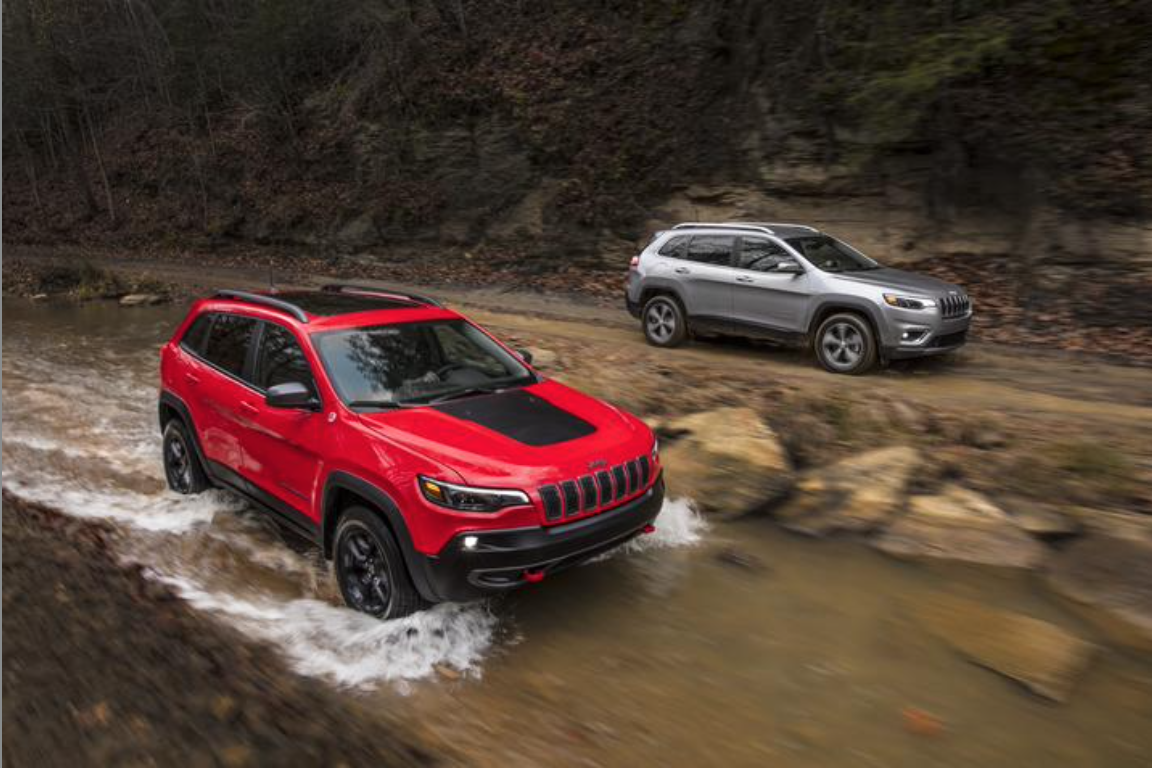 he 2020 Jeep® Cherokee – the most capable midsize sport-utility vehicle (SUV)