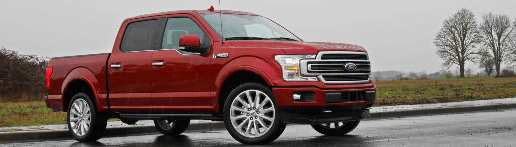 Red 2019 Ford F-140 Limited