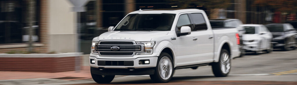 White 2019 Ford F-150 Limited
